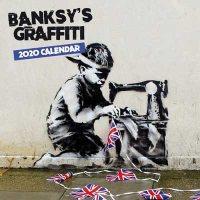 2020 Banksy's Graffiti Mini Wall Calendar