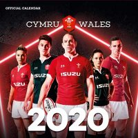 2020 Welsh Rugby Union Wall Calendar