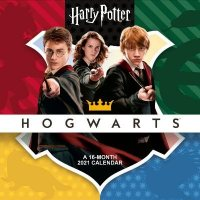 Harry Potter 2021 Calendar - Official Square Wall Format Calendar