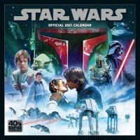 Star Wars Classic 2021 Calendar - Official Square Wall Format Calendar
