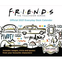 Friends 2021 Desk Block Calendar - Official Desk Block Format Calendar