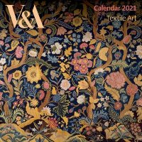 V&A Textile Art Mini Wall calendar 2021 (Art Calendar)