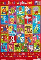 Learn the Alphabet Wall Chart