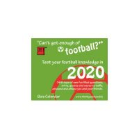 2020 Can't Get Enough Of Football Boxed Calendar