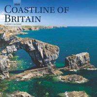 2020 Coastline Of Britain Wall Calendar