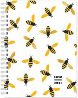 Bees Spiral Bound Diary 2020-2021 WTV