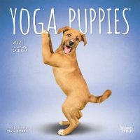 2021 Yoga Puppies Mini Wall Calendar