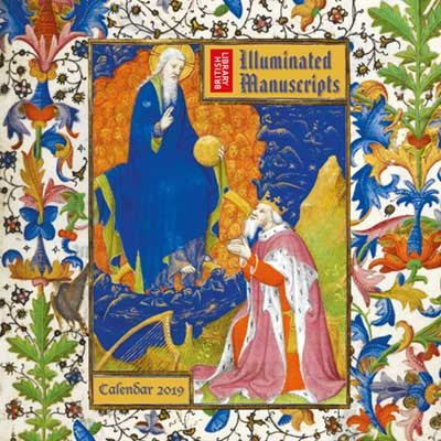 British Library - Illuminated Manuscripts Wall Calendar 2019 (Art Calendar) (Calendar)