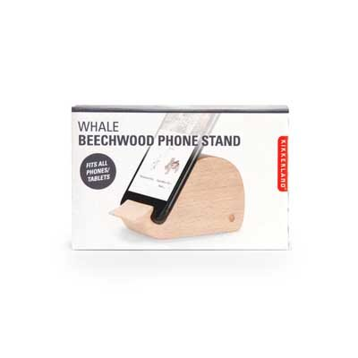 Whale phone stand