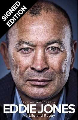 Eddie Jones - Signing copies of 'My Life and Rugby: The Autobiography'