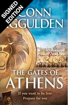 The Gates of Athens: Signed Edition  - Wars of Sparta and Athens (Hardback)