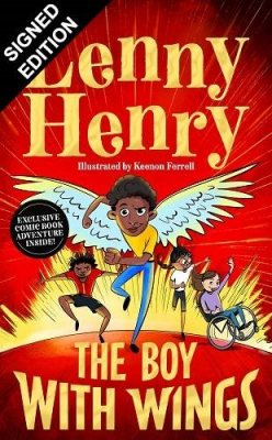 The Boy With Wings: Signed Edition (Hardback)