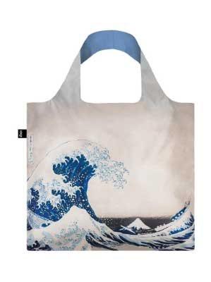 Hokusai's The Great Wave Foldaway bag