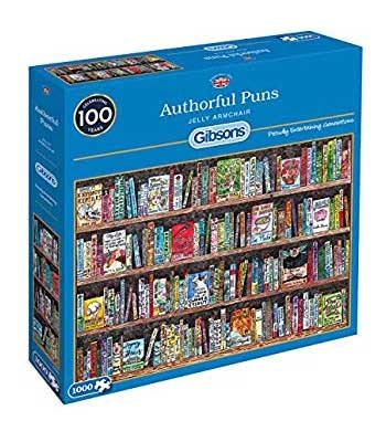 Authorful Puns Jigsaw Puzzle 1000pc (Jigsaw)