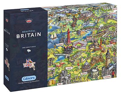 Beautiful Britain 1000pc Jigsaw