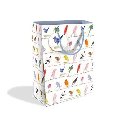 Edward Lear Birds Large Gift Bag