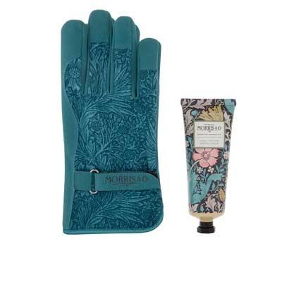 Pink Clay And Honeysuckle Gardening Glove Kit