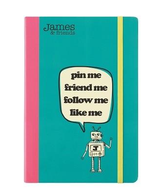 A5 Notebook - James & Friends