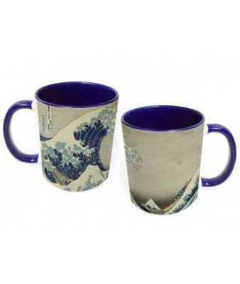 Hokusai's The Wave Mug