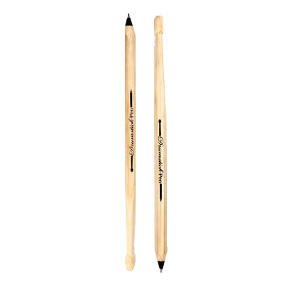 Black Drumstick Pen
