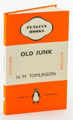 Old Junk Penguin Notebook