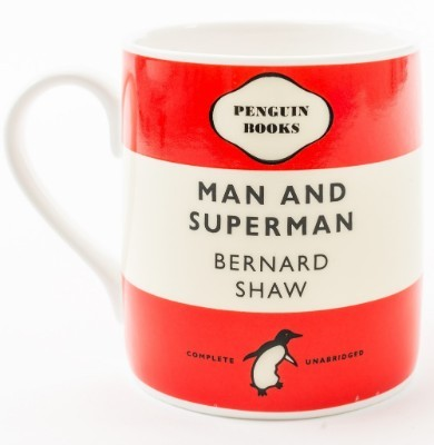 Man And Superman - Mug (red)
