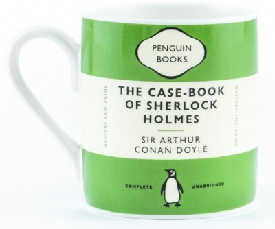 The Case-Book Of Sherlock Holmes Mug (green)