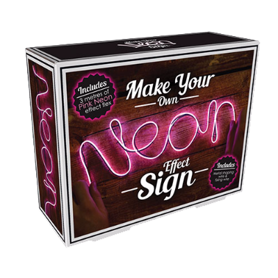 Make Your Own Neon Pink Sign