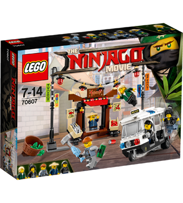 LEGO (R) Ninjago City Chase: 70607