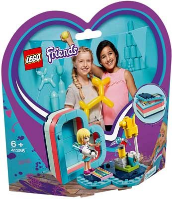 LEGO (R) Friends Stephanie's Summer Heart Box: 41386