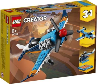 LEGO (R) Creator Propeller Plane: 31099