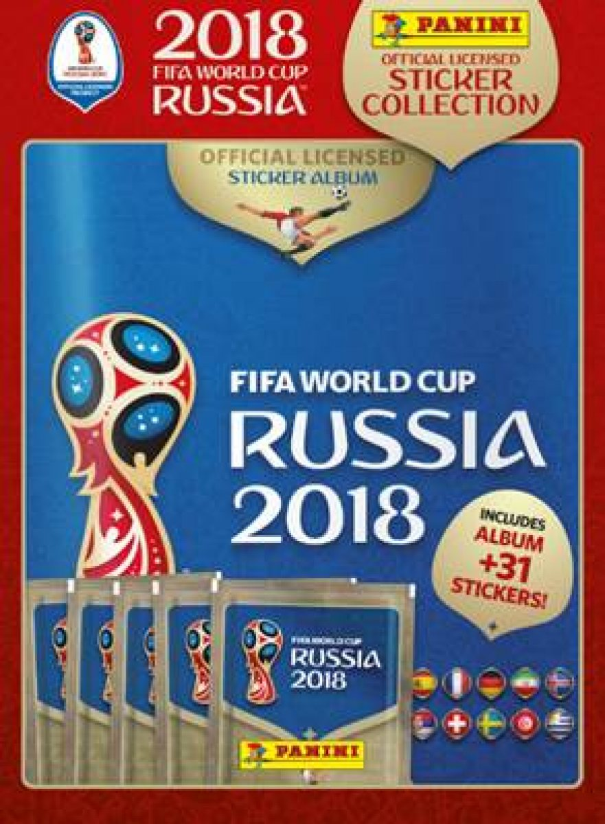 Panini FIFA World Cup Starter Pack 2018