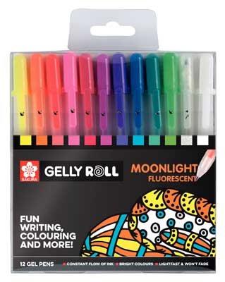 Gelly Roll Moonlight Set 12 Gel Pens