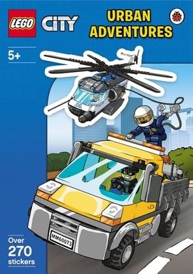 LEGO CITY: Urban Adventures Sticker Activity Book - LEGO City (Paperback)