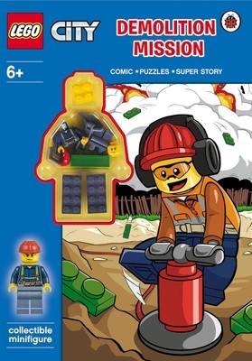 LEGO CITY: Demolition Mission Activity Book with Minifigure - LEGO City (Paperback)