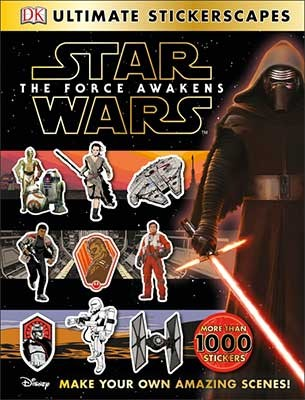 Star Wars (TM) The Force Awakens Ultimate Stickerscapes (Paperback)