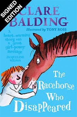 Cover of the book, The Racehorse Who Disappeared.