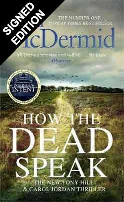 Cover of the book, How the Dead Speak.