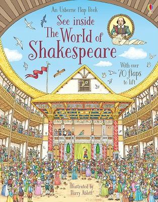 See Inside World of Shakespeare - See Inside (Board book)