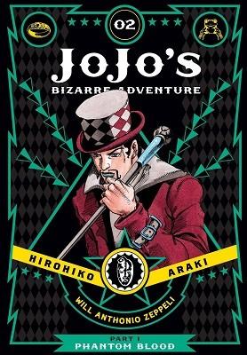 JoJo's Bizarre Adventure: Part 1--Phantom Blood, Vol. 2 - JoJo's Bizarre Adventure: Part 1--Phanto 2 (Hardback)