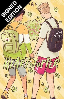 Heartstopper Volume Three: Signed and Doodled Edition - Heartstopper (Paperback)