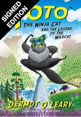Toto the Ninja Cat and the Legend of the Wildcat