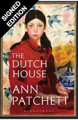 Cover of the book, The Dutch House.