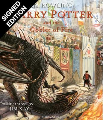 Harry Potter and the Goblet of Fire: Illustrated First Edition - Signed by the Illustrator (Hardback)