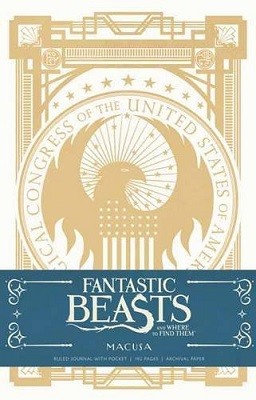 Fantastic Beasts and Where to Find them: MACUSA Hardcover Ruled Journal - Insights Journals (Hardback)