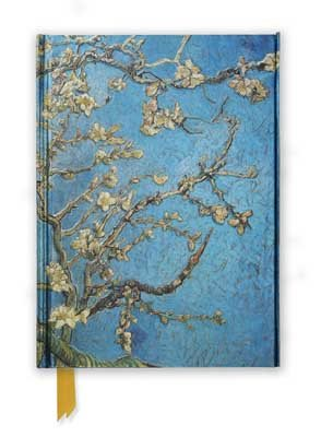Van Gogh: Almond Blossom (Foiled Journal) - Flame Tree Notebooks