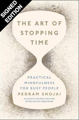 Cover of the book, The Art of Stopping Time.