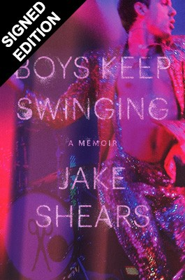 Cover of the book, Boys Keep Swinging: A Memoir.