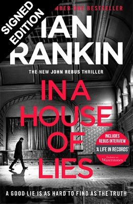 Cover of the book, In a House of Lies.