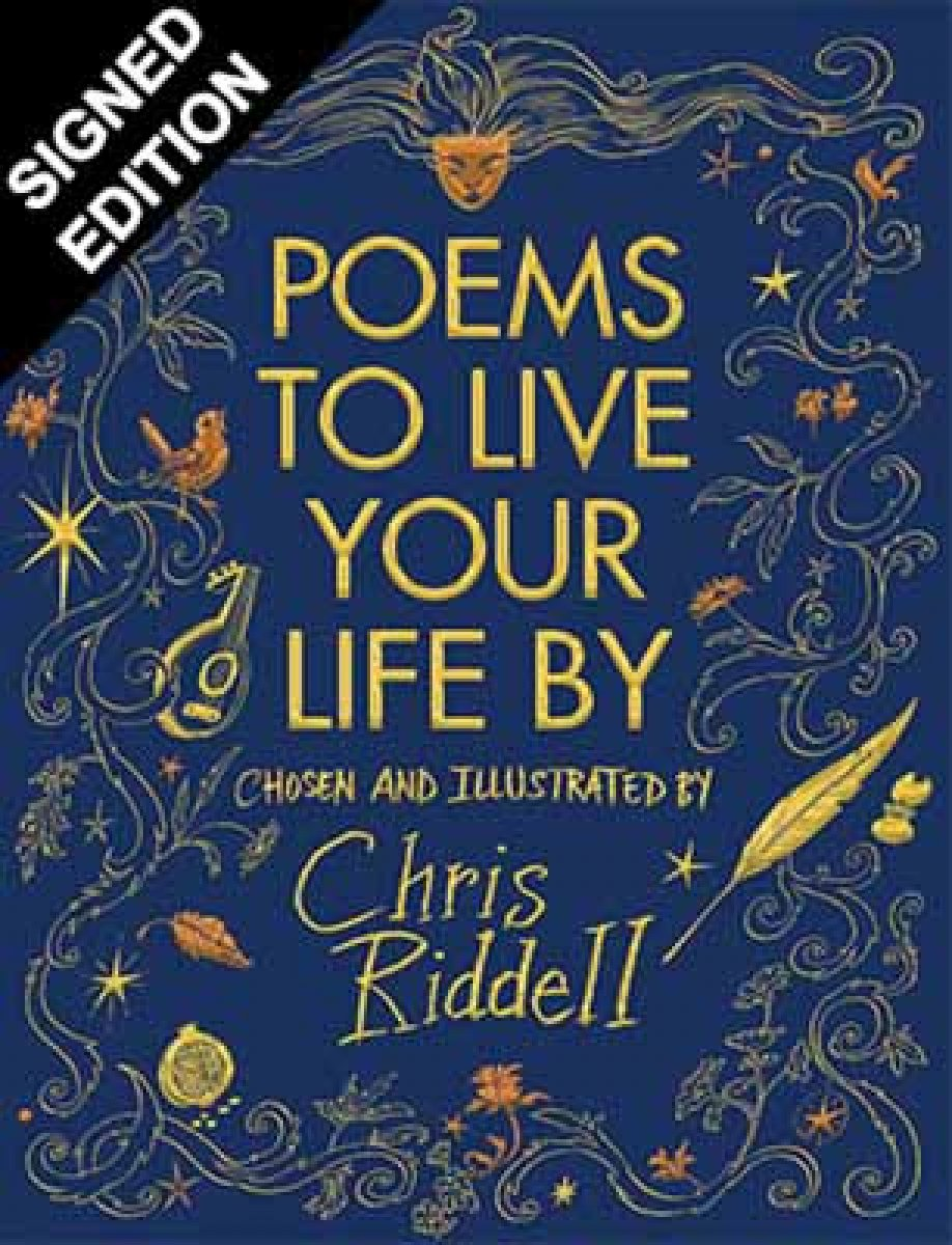 Poems to Live Your Life By: Signed Edition (Hardback)